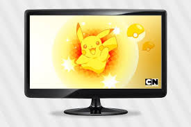 New Downloads de Pokémon | Papel de Parede - Pikachu | Cartoon Network @TE53