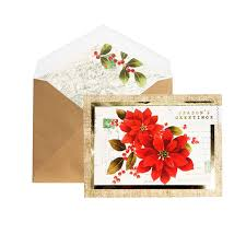 season snow greeting card by rifle paper