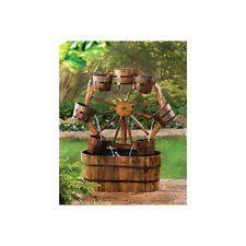 Koehler Home Decor Wagon Wheel Fountain
