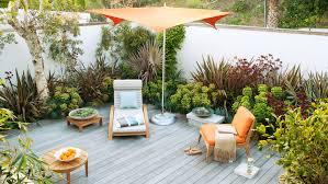 Deck In The Backyard Great Deck Ideas Sunset