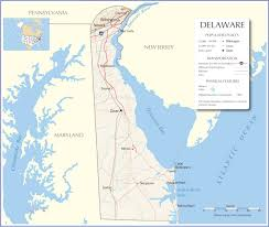 Delaware Map Usa by Delaware Map Delaware State Map Delaware Road Map Map Of Delaware