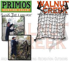 Primos Blinds Double Bull Primos Brush Lock Ground Blind Concealment System 60089