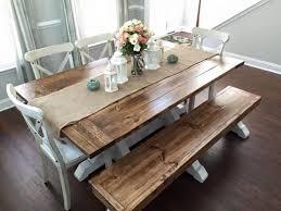 Farmhouse Dining Room Tables Best 25 Farm Table Decor Ideas On Pinterest Farmhouse Table