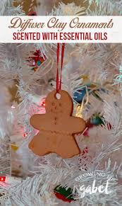 no bake clay ornaments diffusers growing up gabel