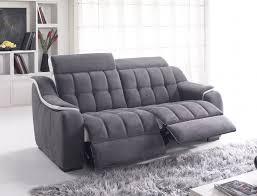 canapé electrique canapé 2 places 2 relax électrique meuble et déco