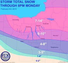 Suny Oswego Map Three Maps To Describe Winter Storm Impacts In The Finger Lakes