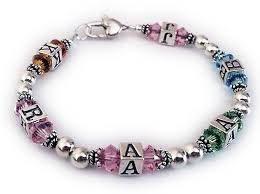 monogram bracelets initial bracelets or monogram bracelets with and without charms