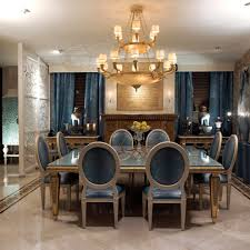 miami square extendable dining room contemporary with silver