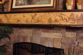 cm 133 wild life chorus fireplace mantels u0026 shelves