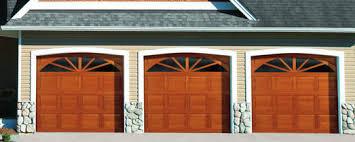 traditional wood collection garage doors overhead door johnson
