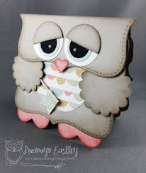 How To Make Punch Cards - owl birthday card with pattern and step by step instruction how to