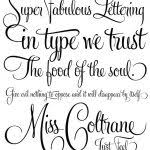 different lettering styles letters font