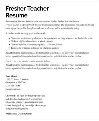 good teacher resume examples elementary teacher resume