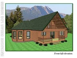 chateau homes chateau katahdin cedar log homes floor plans