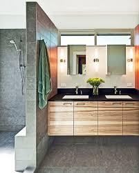 Midcentury Modern Bathroom by Mid Century Modern Bathroom Lighting Wall Mounted Dark Brown