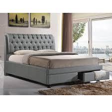 Ceiling Bed Bedroom Impressive Baxton Studio Bed Design For Your Sweet