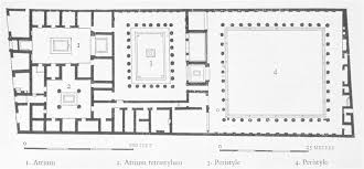 the house of the faun plan house plan
