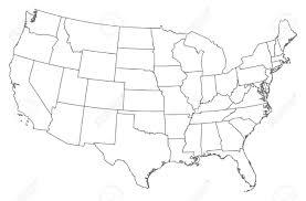 america map political blank usa map vector free stock vector blank similar usa map