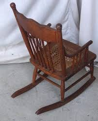 Oak Rocking Chairs Childs Oak Rocking Chair Antique Oak Rocking Chair Rocker With