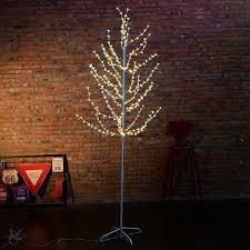 7ft led cherry blossom lighted tree floor l