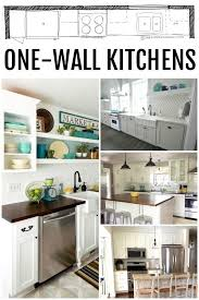 one wall kitchen designs with an island small one wall kitchen remodel best 25 one wall kitchen ideas only