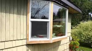 cedar trim on the how to install a bay window series with jim cedar trim on the how to install a bay window series with jim youtube