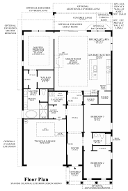 Estate Floor Plans by Toll Brothers At Eagle Creek Estate Collection The Sabel Home