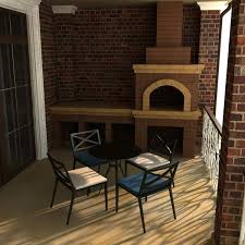 Two Story Fireplace 3d Model Two Story Residental House Cgtrader