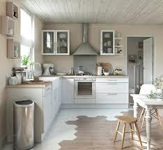 cuisine blanc cérusé cuisine bois blanc cuisine contemporaine blanche et bois