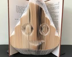 r2d2 star wars book folding pattern diy gift for book art