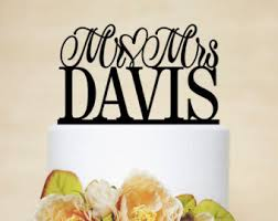 personalized cake topper cake topper etsy