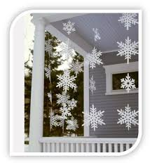 Home Made Decoration Homemade Outdoor Snowflakes Here Is A Homemade Christmas