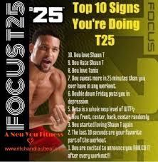 Challenge De Que Trata 34 Best Shaun T Images On T25 Workout Fit