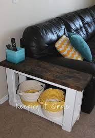 diy sofa side table hometalk
