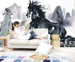 Mountain Mural Wall Art Wallpaper Compare Prices On Wallpaper Of Horse Online Shopping Buy Low