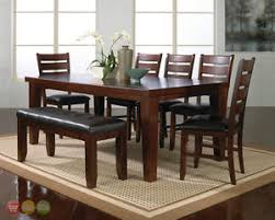 rustic dining room sets bardstown 6 rustic dining room furniture set w table 4