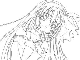 anime coloring pages anime coloring pages color and draw