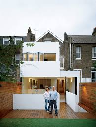 9 striking modern white facades dwell england town house facade