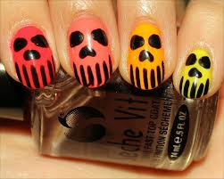 21 killer skull nail art design tutorials nail design ideaz