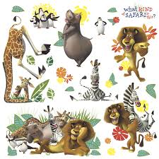 rmk scs madagascar wall stickers madagascar wall stickers