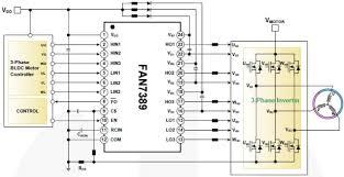 fan7389 3 phase half bridge gate drive ics on semiconductor mouser