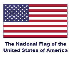 American Flag To Color American Flag Clipart Modern Pencil And In Color American Flag