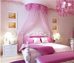 Schlafzimmer Rosa Modern Style Kleine Floral Tapete Romantische Rosa Kirsche