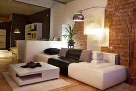 Stylish Living Room Stylish Modern Living Room With Reading Lamps - Stylish living room designs