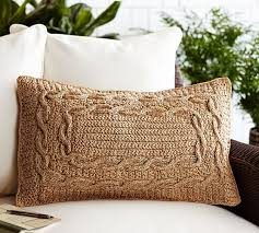 Pottery Barn Kilim Pillow Cover Paper Crochet Lumbar Pillow Cover Pottery Barn