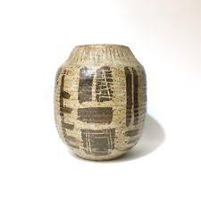 Studio Pottery Vase Studio Pottery Ebay