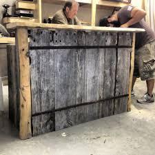 diy wood bar man cave wood pallet bar free diy plansbest 25 build
