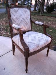 Recovering An Armchair Why I Used A Butter Knife To Reupholster A Thrift Store Chair