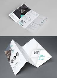 free tri fold brochure template graphic design pinterest