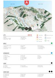 Phoenix Mountain Preserve Map by Magic Mountain Skimap Org